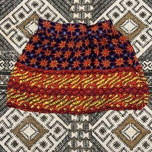 Angie boho mini skirt size small